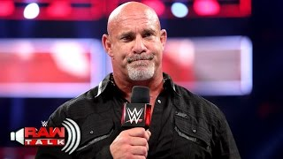 Download Goldberg says goodbye ... for now: Raw Talk, April 3, 2017 (WWE Network Exclusive) Video