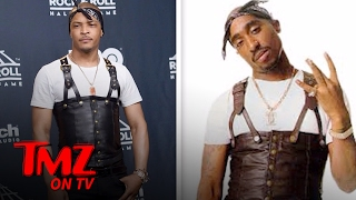 Download T.I. Dresses Like Tupac And Gets Destroyed On Social Media | TMZ TV Video