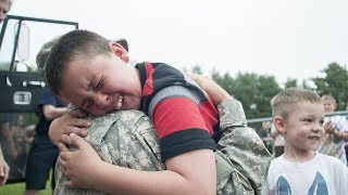 Download Soldiers Homecoming 😭 Soldiers Surprise Their Kids (2018) Video