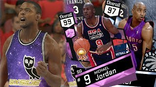 Download NBA 2K17 My Team - Pink Diamond MJ 5 Point Play! PS4 Pro 4K Video