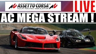 Download Assetto Corsa - Online Racing With Subs - Mega Stream ! Video