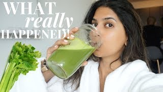 Download I drank CELERY JUICE for 7 Days and this is what happened... Video