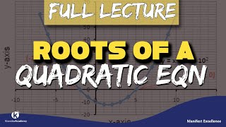 Download Roots of a quadratic equation alpha beta FULL LECTURE by Kisembo Academy Video