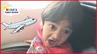 Download Family Fun Vacation! Kid React Airplane Trip to NYC Hotel Tour! Ryan's Family Review Vlog Video