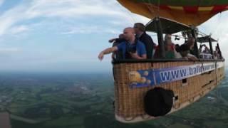 Download Amazing Hot Air Balloon in 360 VR, Utrecht Video