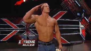 Download John Cena reveals news of Osama bin Laden at Extreme Rules 2011 Video