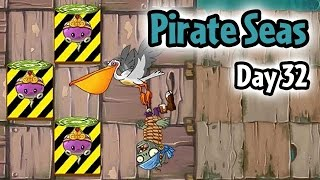 Download Plants vs Zombies 2 - Pirate Seas Day 32: Pelican Zombie | Protect Rotobaga Video