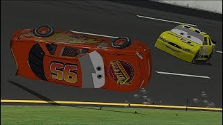 Download Can I Recreate Lightning McQueen's ″Cars 3″ Crash? (Part 3) | NR2003 LIVE STREAM EP300 Video