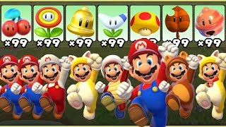 Download Super Mario 3D World - All Power-Ups Video