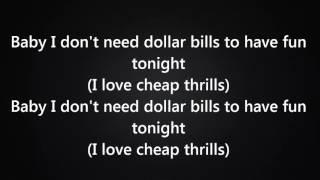 Download Sia - Cheap Thrills Ft. Sean Paul [Lyrics] |New 2016| Video