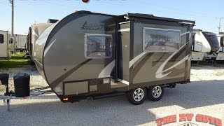 Download Go Far Away With This Super Lite Easy To Tow Travel Trailer - 2016 Camp Lite 16DBS Video