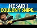 Download SNIPE GOD? | I HAD TO PROVE HIM WRONG | HIGH KILL FUNNY GAME - (Fortnite Battle Royale) Video