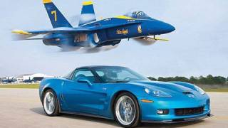 Download ZR1 Vette vs Jet! - Chevrolet Corvette ZR1 Races A U.S. Navy Fighter Jet Video