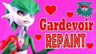 Download Valentine's Day Special Collab ❤ Repaint Pokémon Gardevoir custom doll Frankie stein Video