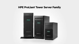 Download Meet the HPE ProLiant Tower Server Family Video