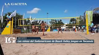 Download Las reinas del Beach Volley juegan en Tucumán Video