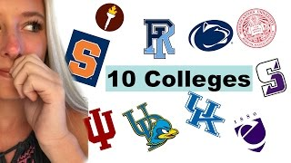 Download I APPLIED TO 10+ COLLEGES!! (and was accepted to...) Video