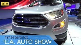 Download Ford EcoSport 2017, restyling per gli USA (e l'Europa?) | live Los Angeles Auto Show [ENGLISH SUB] Video