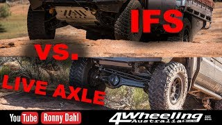 Download IFS vs LIVE AXLE, Off-road Video