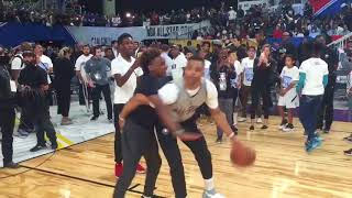 Download Russell Westbrook Vs LeBron James Jr in a 1 on 1 ! Russ takes him to the post! Video