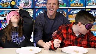 Download THE OREO CHALLENGE! Blindfold Taste Test Video