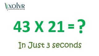 Download Multiplying any two 2 digit number in 3 seconds. Video