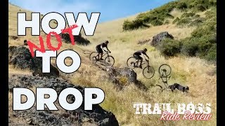 Download HOW TO DO DROPS ON YOUR MTB | Trail Boss Ride Review Video