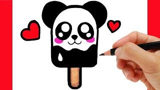 Download HOW TO DRAW A ICE CREAM/ como dibujar un helado/ como desenhar um sorvete Video