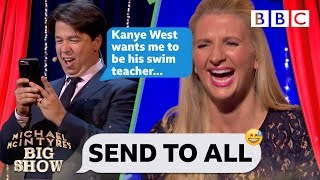 Download Send To All with Rebecca Adlington - Michael McIntyre's Big Show: Series 2 Episode 4 - BBC One Video