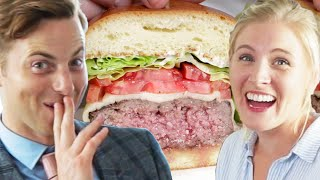 Download Couple Tries Home-Cooked Vs. $45 Burgers Video