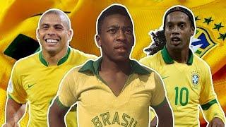 Download Greatest Brazil XI | Pele, Ronaldo, Ronaldinho! Video