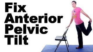 Download How to Fix Anterior Pelvic Tilt with Stretches & Exercises Video