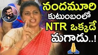 Download Roja Said Jr NTR Is The Only One Man In Nandamuri Family || Roja Super Words About NTR || NSE Video