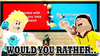 Download How Much Do We Know? - Roblox Would You Rather - DOLLASTIC PLAYS with Gamer Chad Video