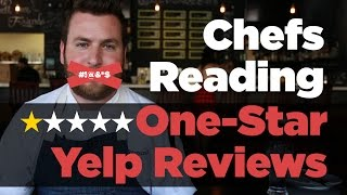 Download Popular Chefs Read 1-Star Yelp Reviews | FOODBEAST LABS Video
