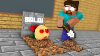 Download Monster School : RIP Baldi - Minecraft Animation Video