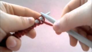 Download Aprende a tejer: montar puntos, punto del derecho y cerrar los puntos. DIY! Video