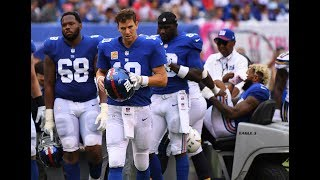 Download Giants QB Eli Manning starts over with new wide receivers Video