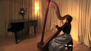 Download M. Glinka - Variations on a theme of Mozart (Olga Shevelevich - Harp) Video