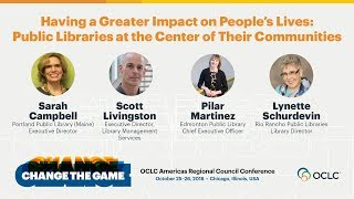 Download Having a Greater Impact on People's Lives: Public Libraries at the Center of Their Communities Video