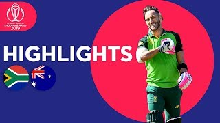 Download SA End Difficult CWC in Style | South Africa vs Australia - Highlights | ICC Cricket World Cup 2019 Video