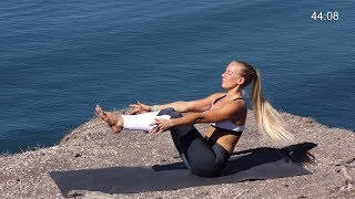 Download Yoga Workout for Six Pack Abs, Part B 46 min - Day 17 & 24 Video
