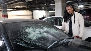 Download Looking at my vandalized car for the first time.. Video