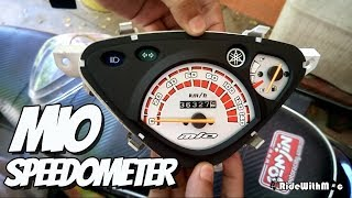 Download Yamaha Mio Sporty: How to Paint Speedometer assembly display Vlog   Custom   Video