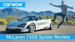 Download McLaren 720S Spider 2019 review - see why it's the ULTIMATE convertible supercar! Video