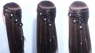 Download Peinado trenzas de lado en forma flores Video
