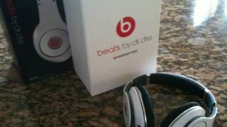 Download Beats by Dr Dre Studio White Headphones UNBOXING Video