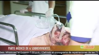 Download Parte médico de los 6 sobrevivientes del accidente aéreo de Chapecoense [Noticias] - TeleMedellin Video