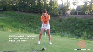 Download [Golf with Aimee] Aimee's Golf Lesson 032: Throw Through to Drive it Farther! Video