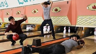 Download OVERNIGHT IN A BOWLING ALLEY!!! (DO NOT TRY THIS! WE SNUCK IN!) Video